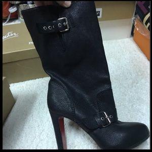 Christian Louboutin 39 black boots